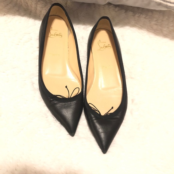 e6842af77b7 Christian Louboutin Shoes - Christian Louboutin Flats !!Final reduction!